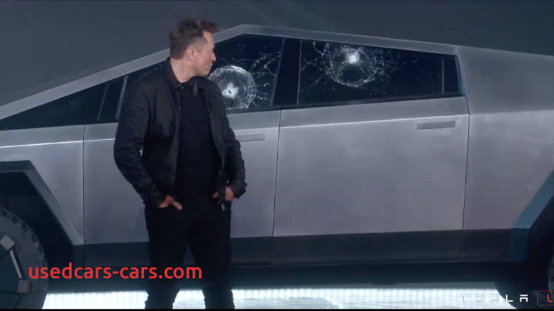 Why Tesla Truck Glass Broke Lovely Tesla Brags About Cybertrucks tough Windows Metal Ball