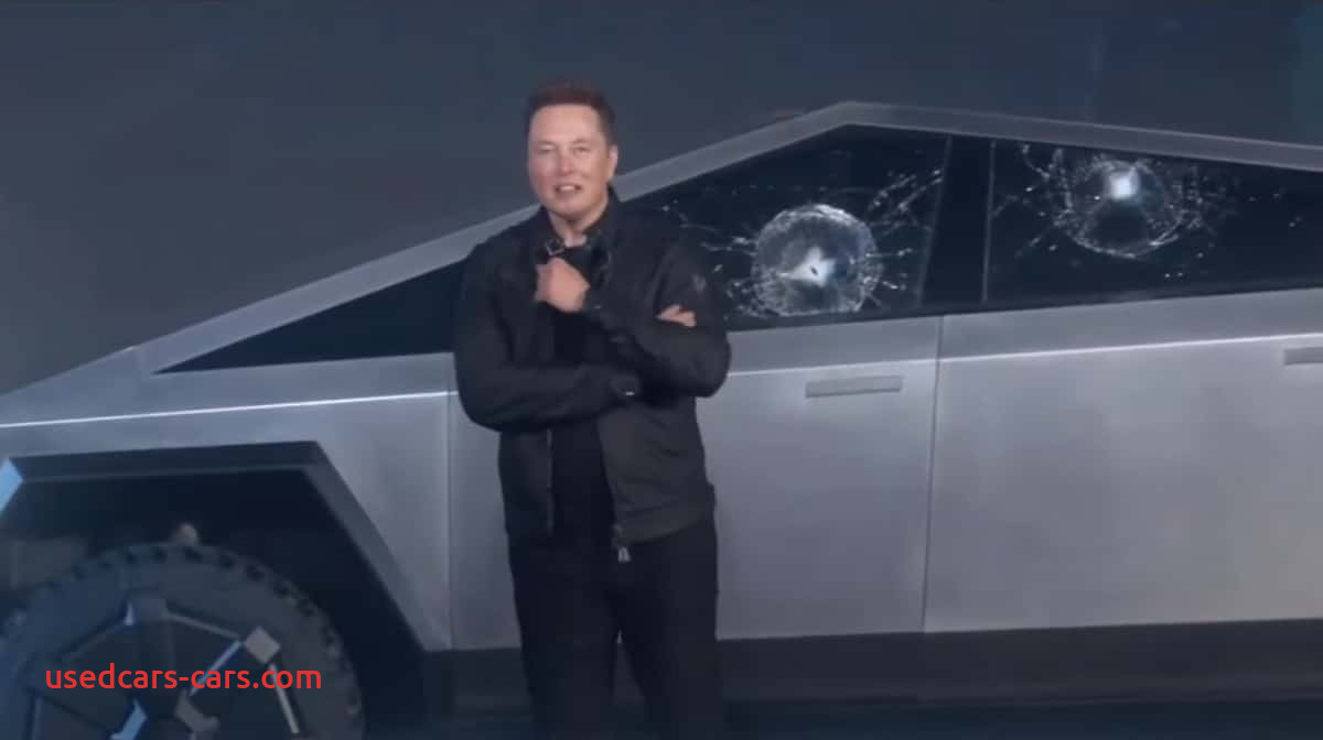 Why Tesla Truck Glass Broke Luxury Teslas Super tough Glass Breaks On Stage During