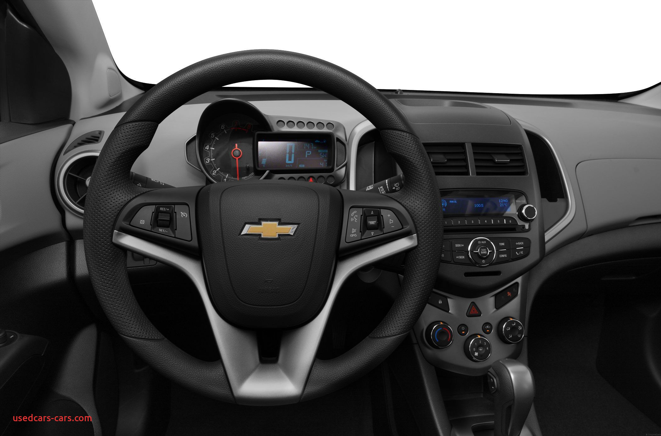 2014 Chevrolet sonic Inspirational 2013 Chevy sonic Ls Hatchback Phone In the Steering Wheel