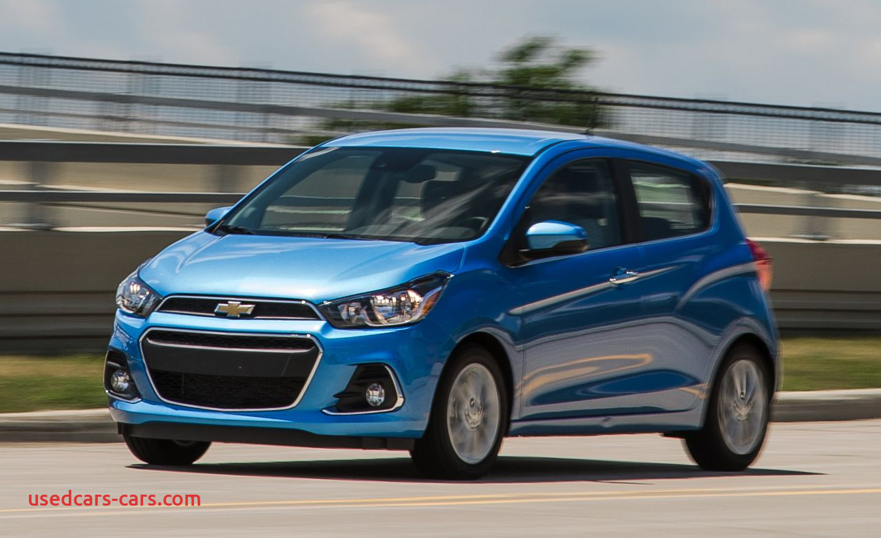 2016 chevrolet spark test review