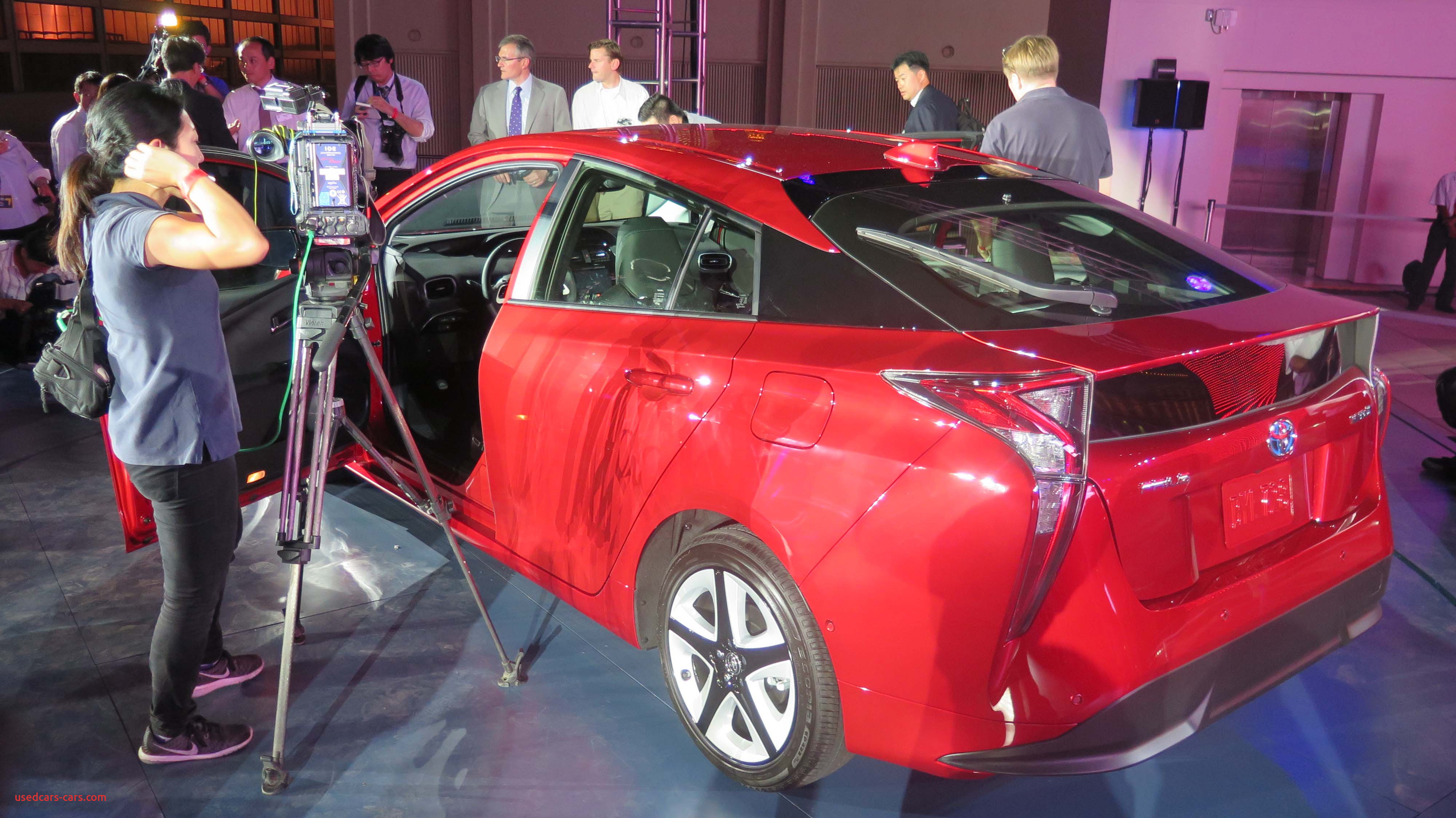 2016 toyota prius world premiere beyond possible in las vegas