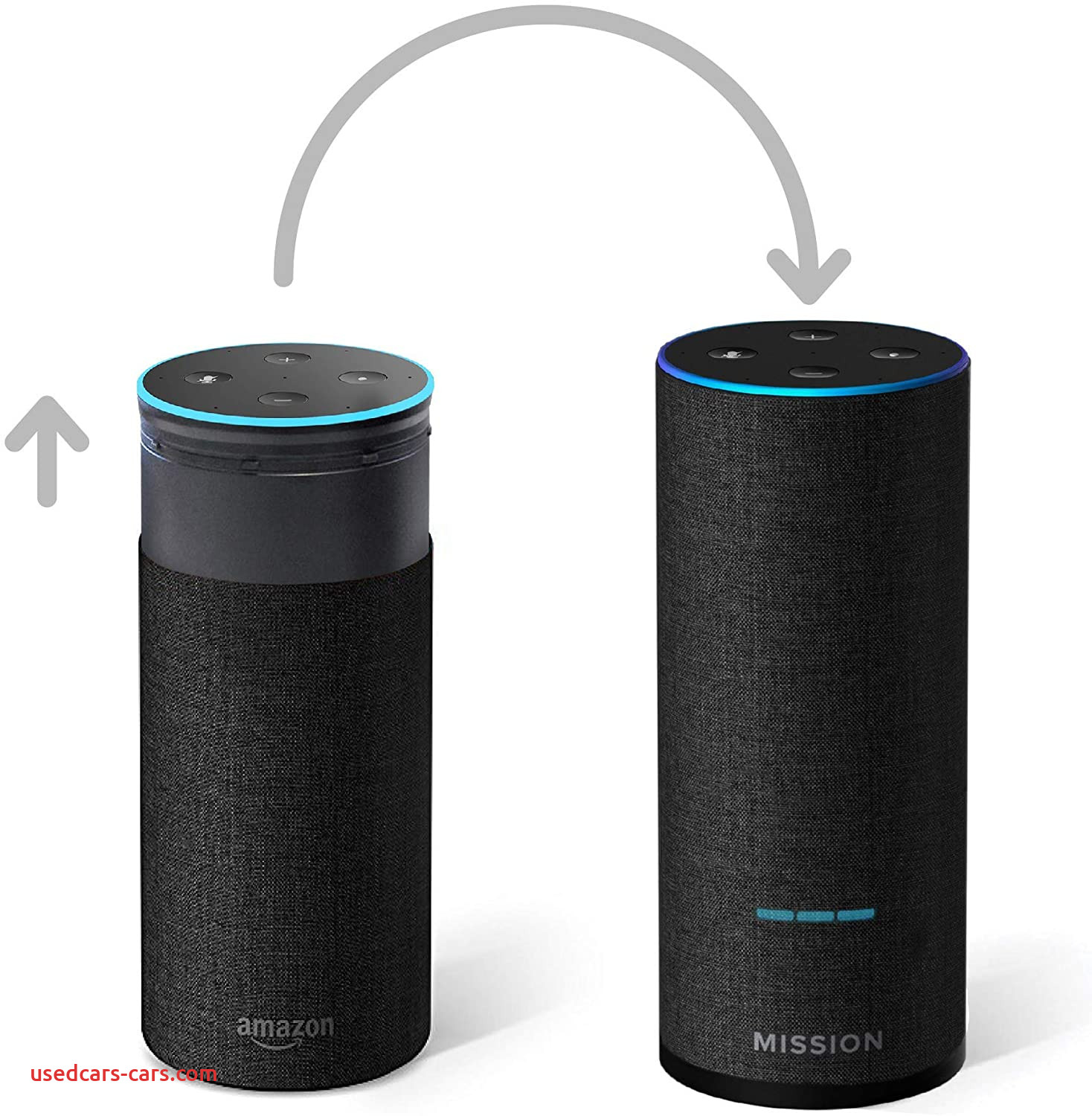 Amazon Echo Specs Fresh Mission Shell Battery Base for Amazon Echo 2nd Gen Make Your Echo Portable Charcoal Fabric