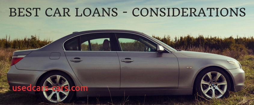 key considerations for grabbing the best car loans