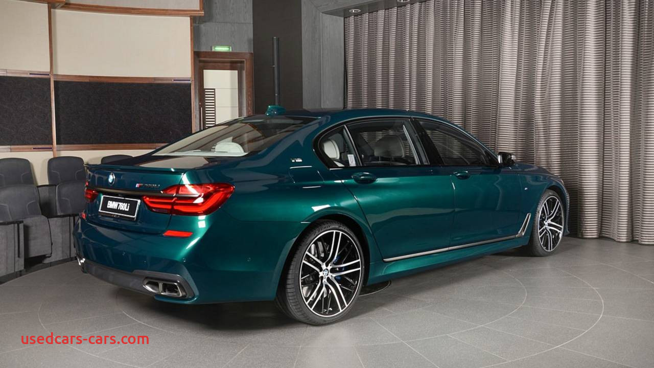 bmw m760i boston green