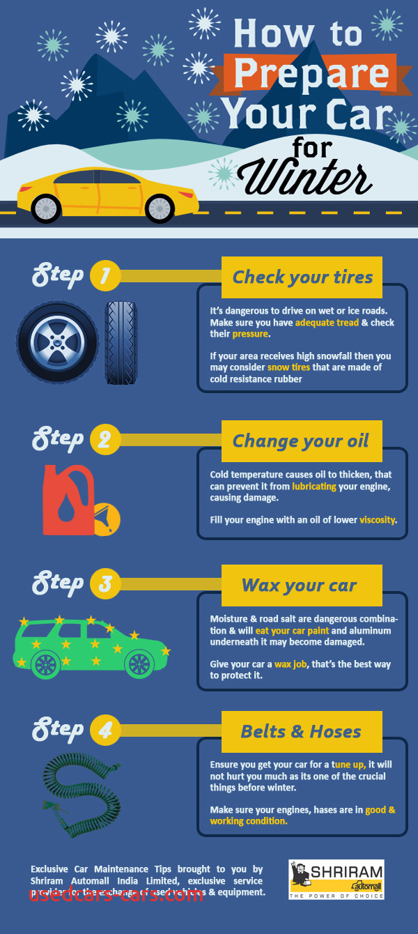 tips to prepare your car for winters