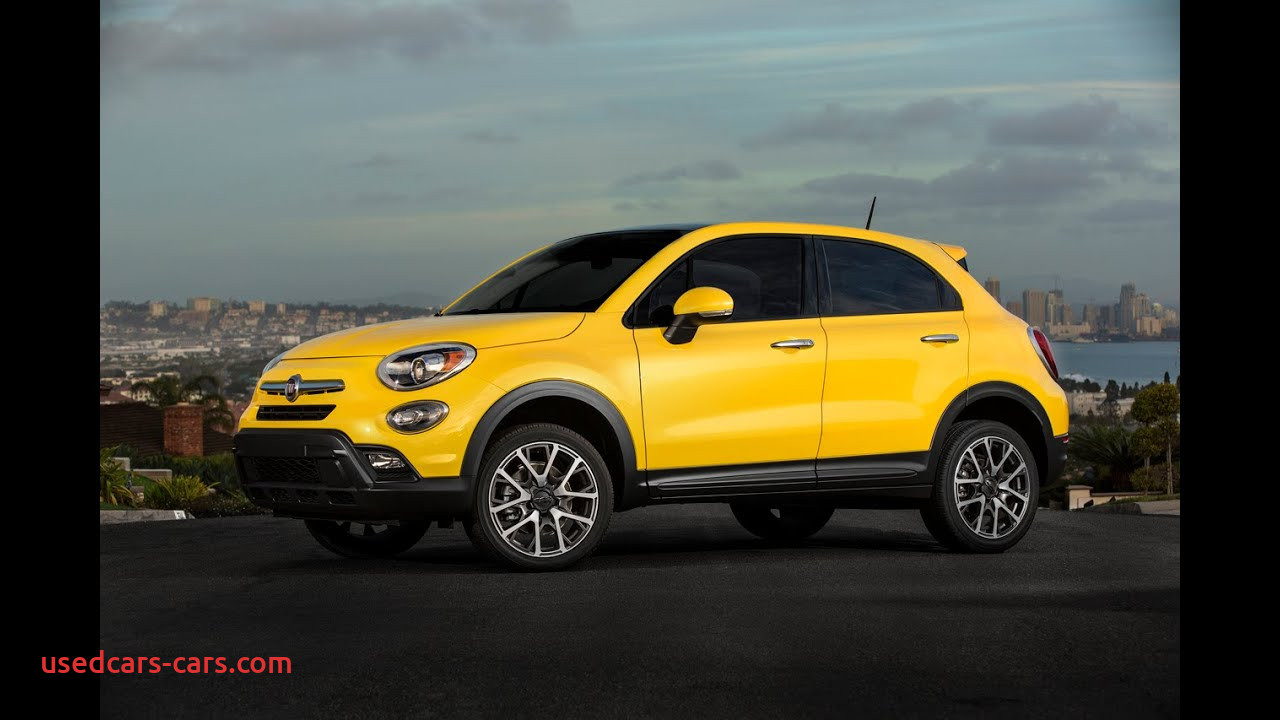 Fiat 500x Crossover Fresh 2016 Fiat 500x Crossover Officially Revealed Specs