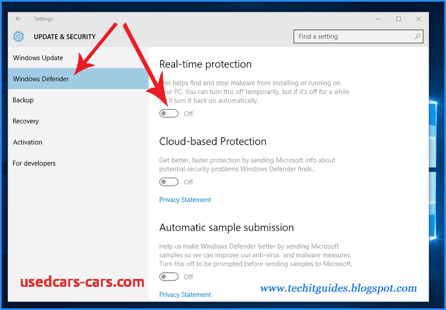 How to Stop Windows Defender Windows 10 Elegant 3 Ways to Turn Off Disable Windows Defender In Windows10