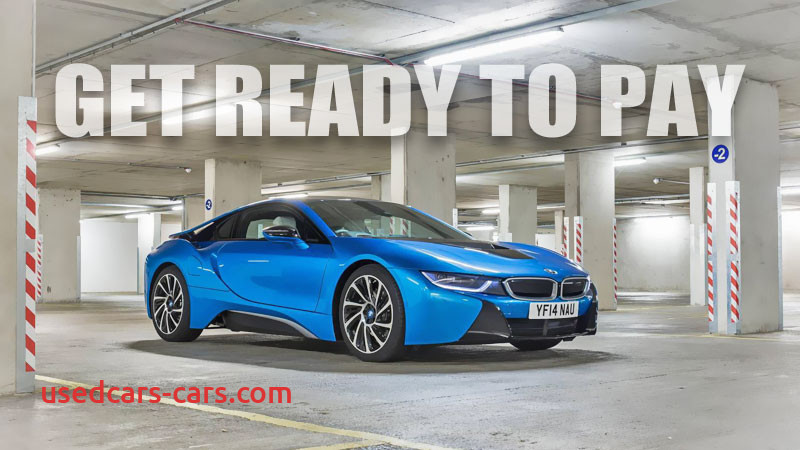 sold bmw i8 fetching 50 sticker