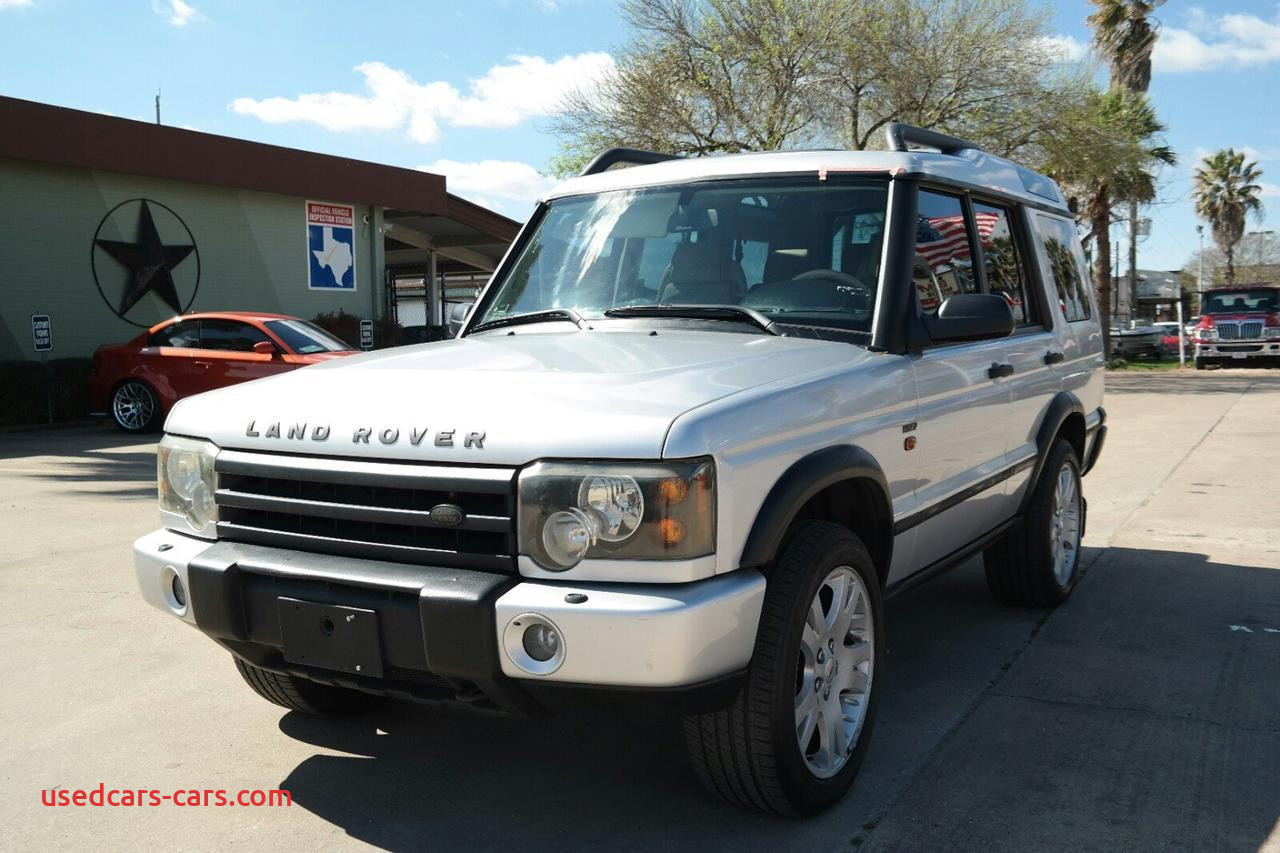 used land rover discovery houston tx