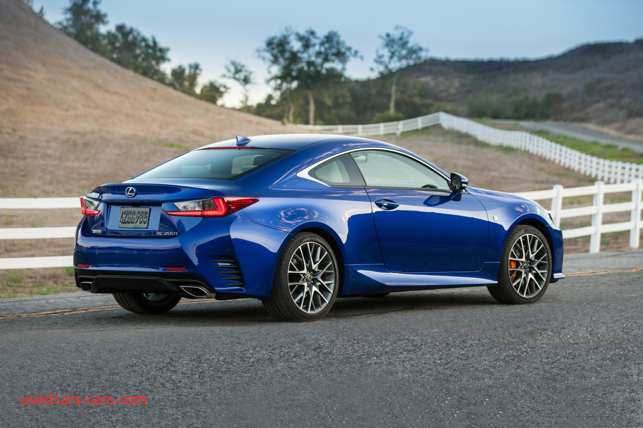 Lexus Coupe Awesome Used 2017 Lexus Rc 200t for Sale Pricing Features