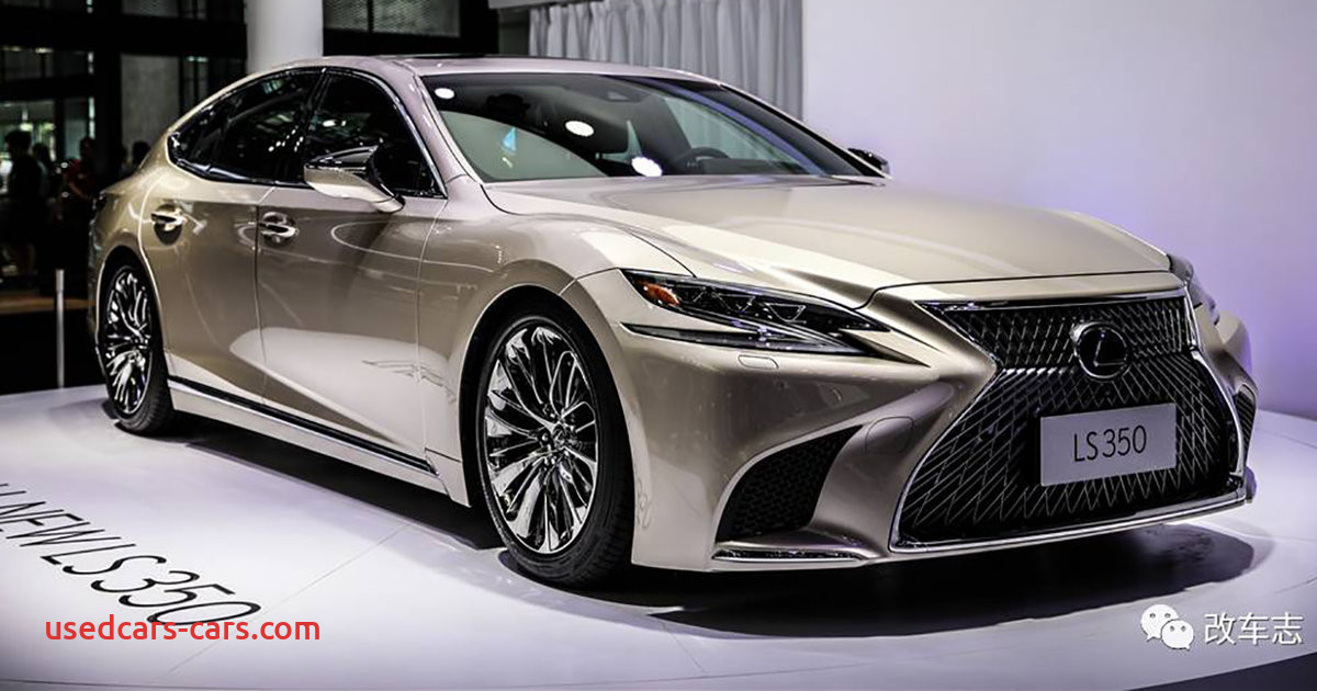 2018 lexus ls350 debuts in china