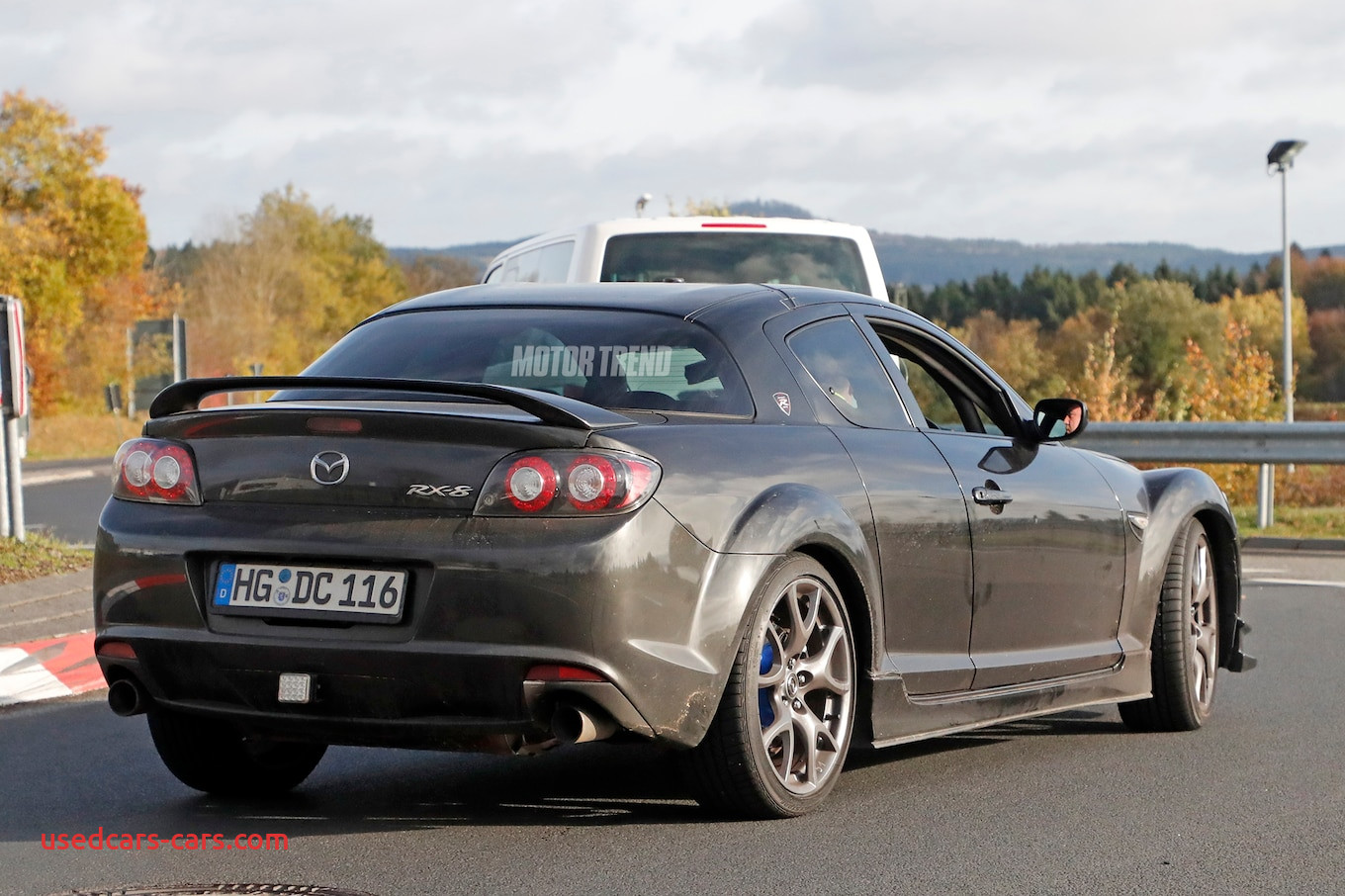 possible mazda rx 9 mule caught testing