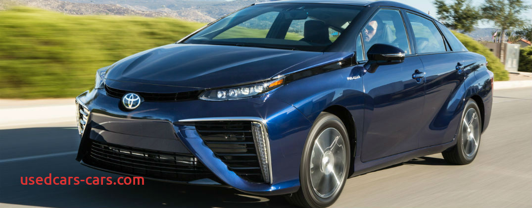 new 2016 toyota mirai driving range and fuel economy ratings
