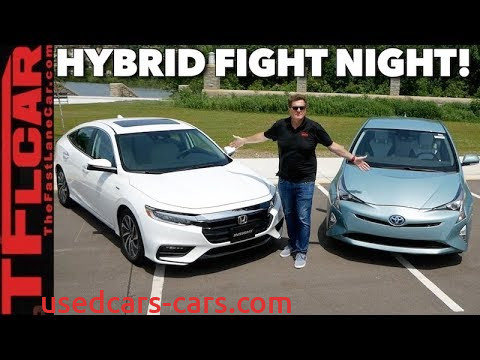 Prius 0-60 Lovely Compared 2019 Honda Insight Vs toyota Prius 0 60 Mph