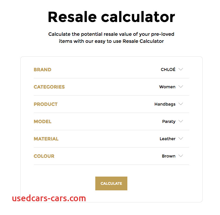 vestiaire collective resale value calculator step 8