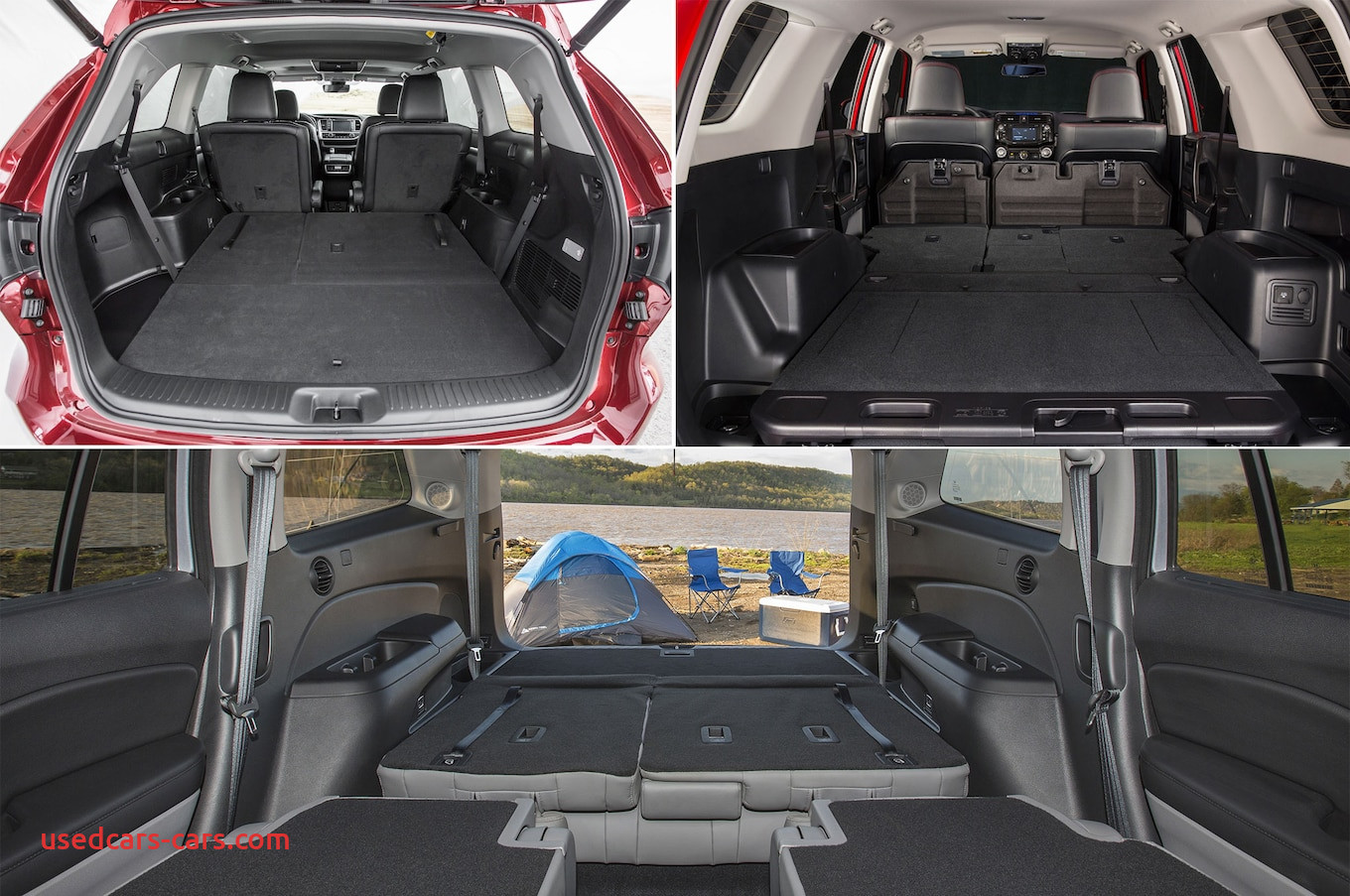 Suvs with Most Cargo Space Luxury which Midsize Suvs Have the Most Cargo Room Motortrend