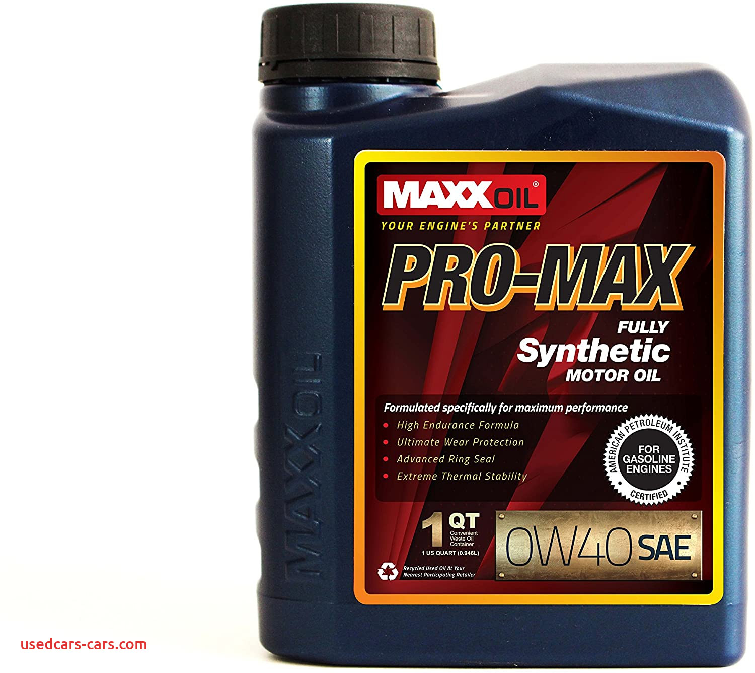 Synthetic Blend Vs Full Synthetic Oil Inspirational Maxx Oil Pro Max 0w40 Premium Synthetic Motor Oil 1 Quart