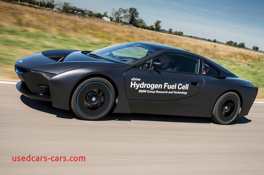bmws hydrogen fuel cell powered i8 research vehicle revealed