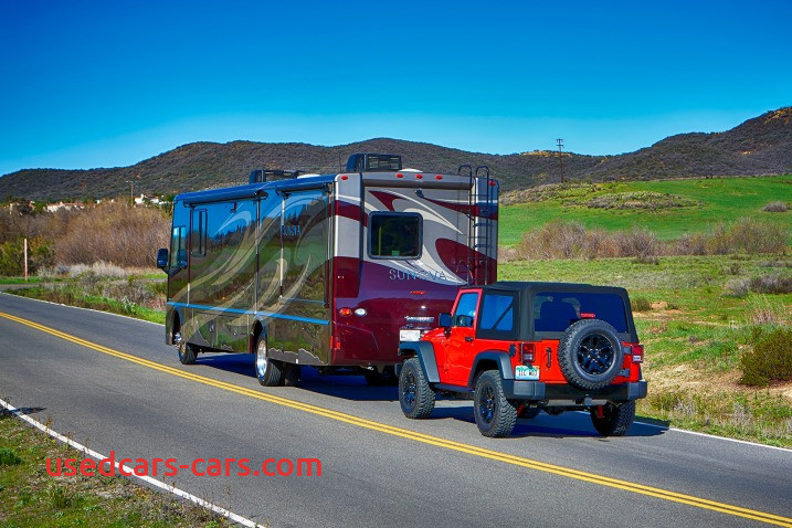 what cars can be flat towed behind an rv