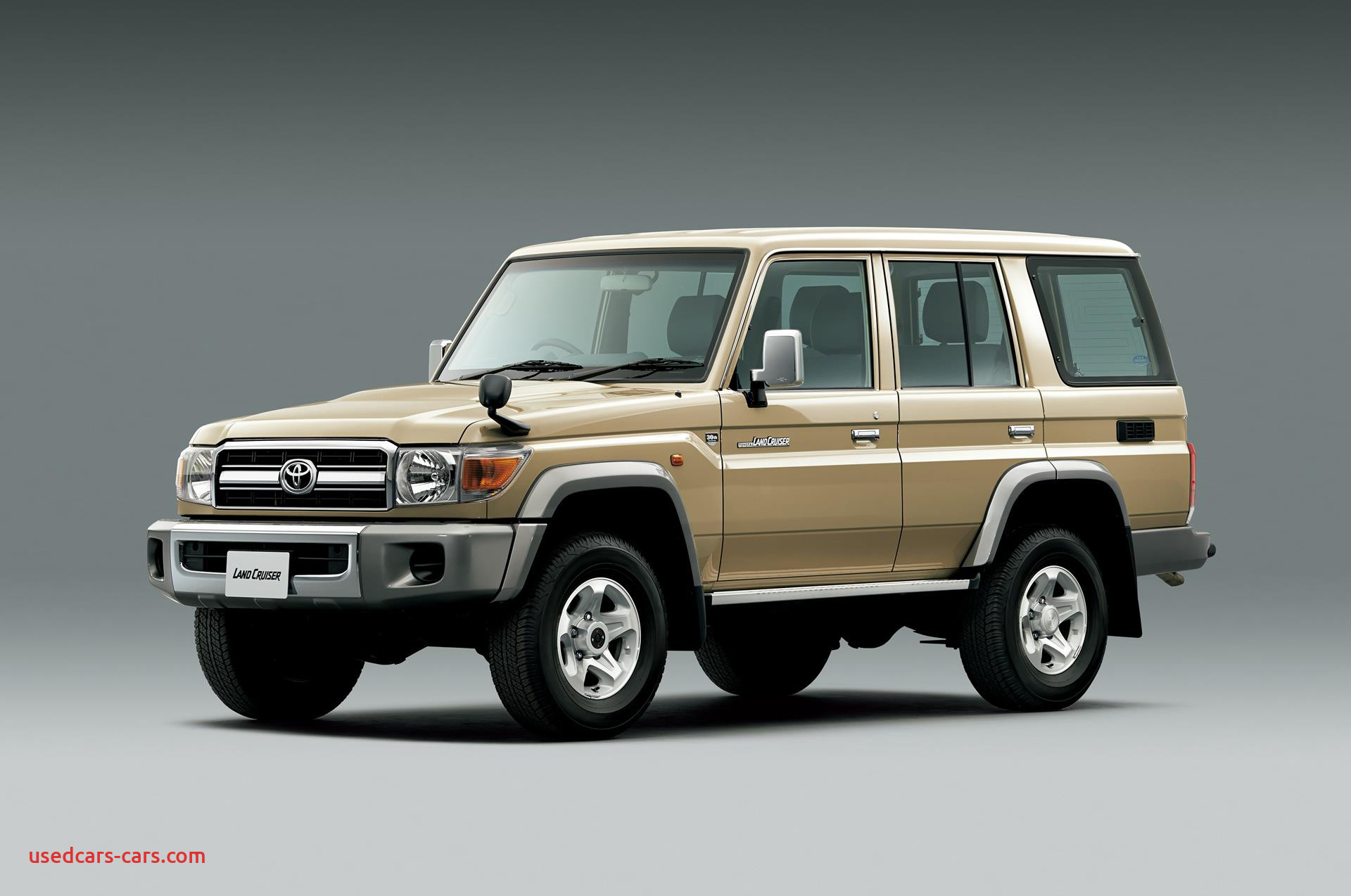 30 years of toyota land cruiser 70 celebrating with limited edition models 85655