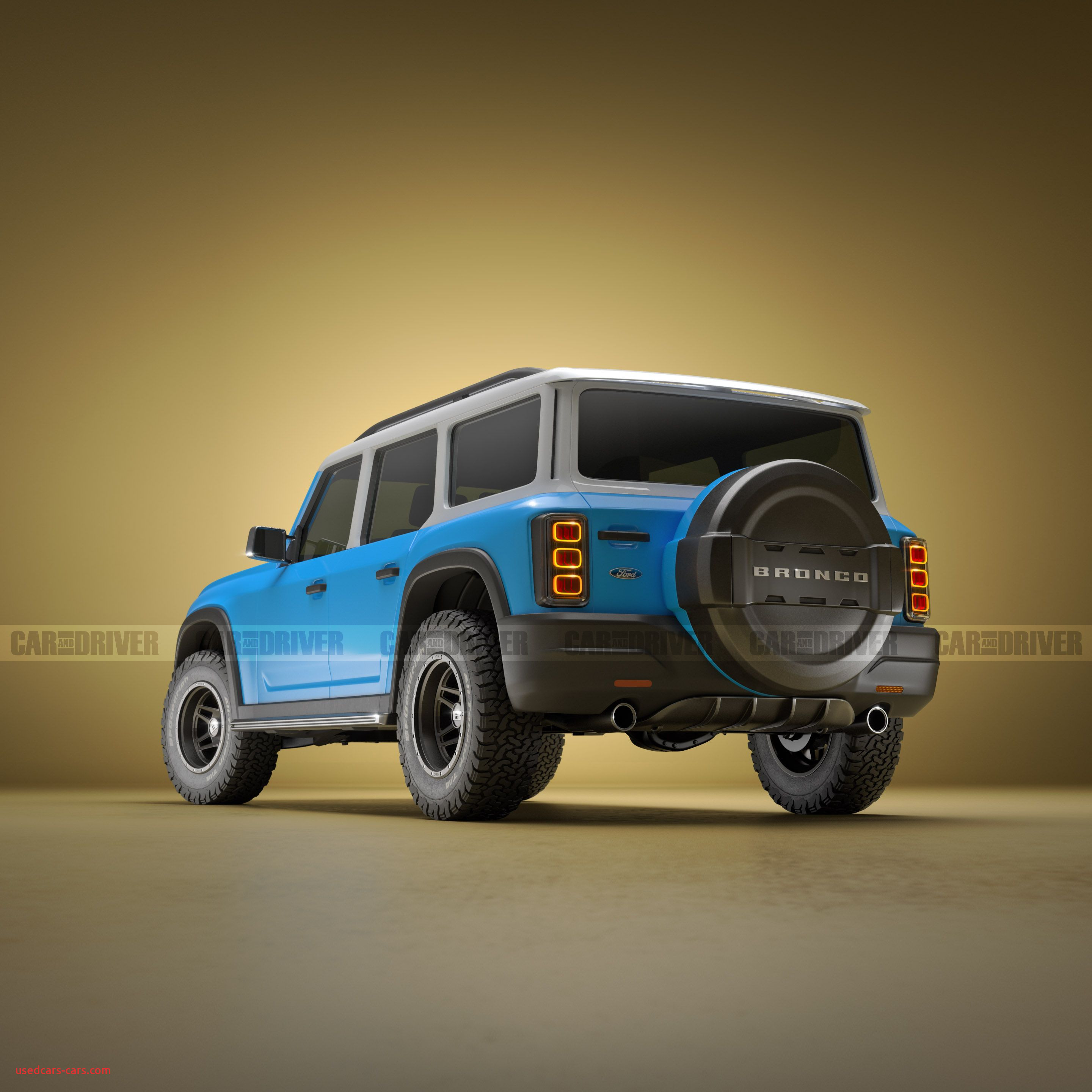new ford bronco rendering by nick kaloterakis 400