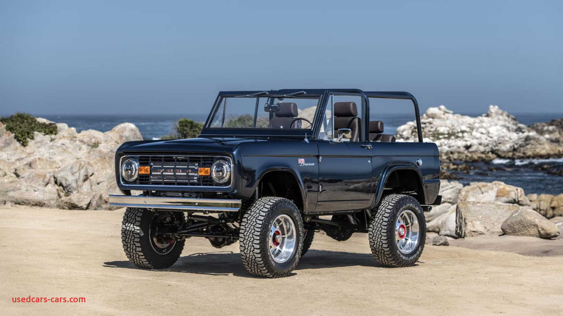 ryan blaney s charity bronco unveiled at monterey