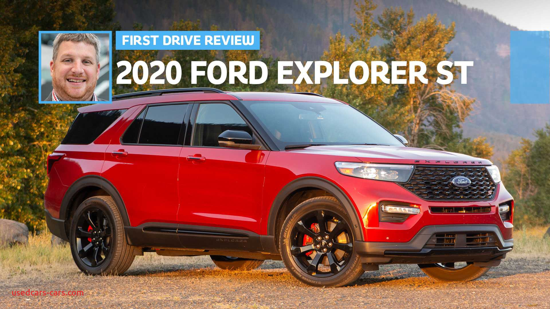 2020 ford explorer st lead