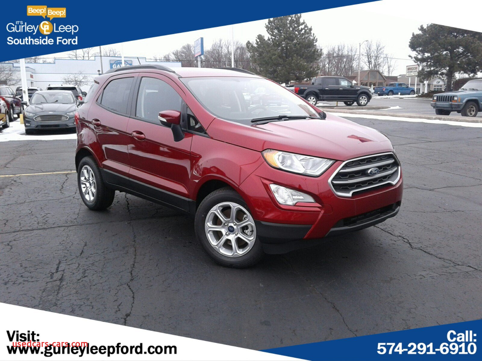 Ford 2020 New Suv Elegant New 2020 ford Ecosport Se with Navigation