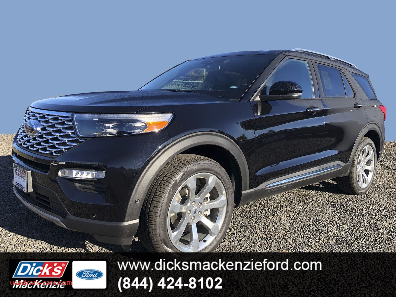 2020 ford Bronco V6 Luxury New 2020 ford Explorer Platinum 4wd with Navigation & 4wd