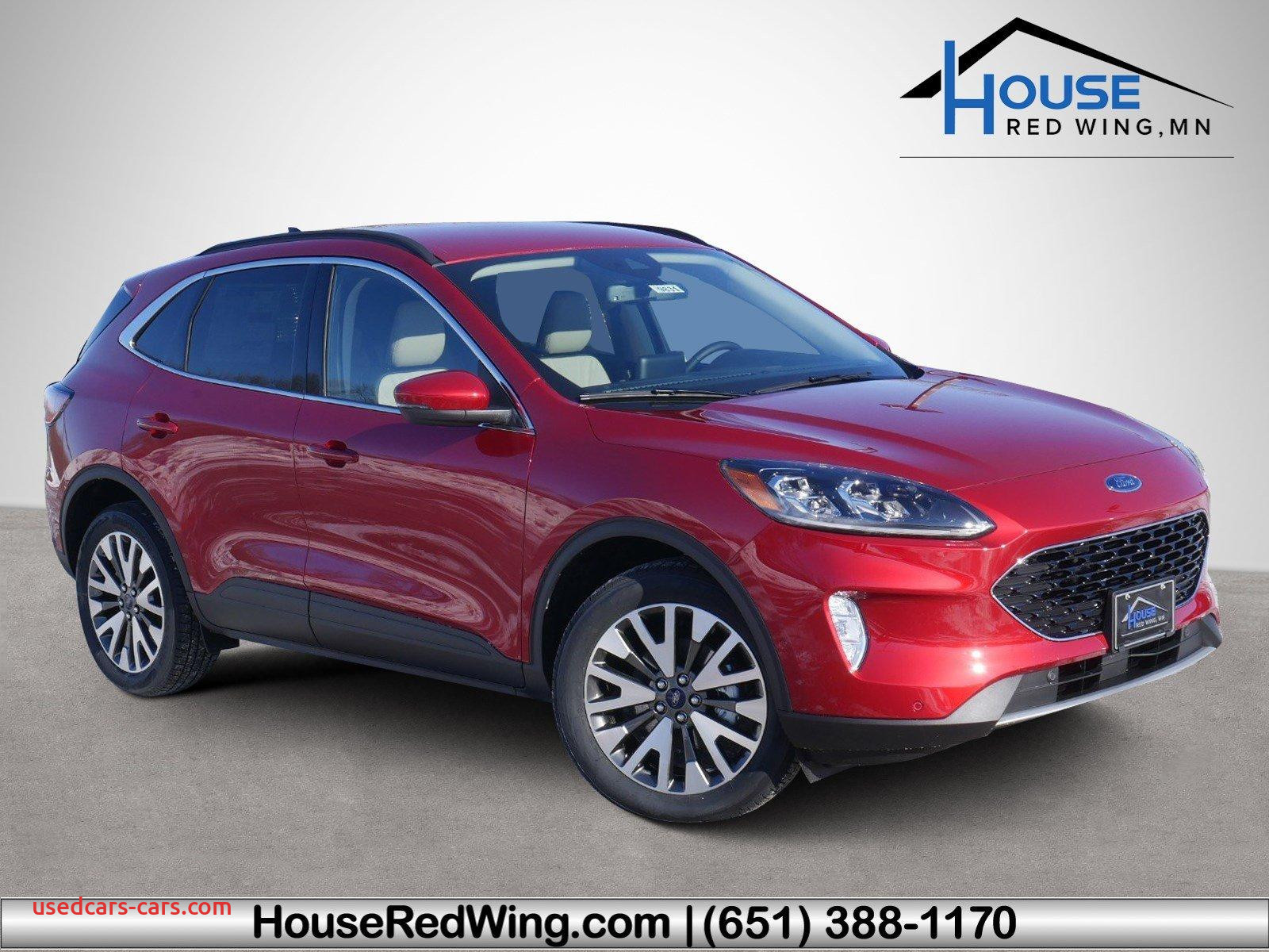 Is the 2020 ford Escape Smaller Lovely New ford Escape at House Auto Group Owatonna