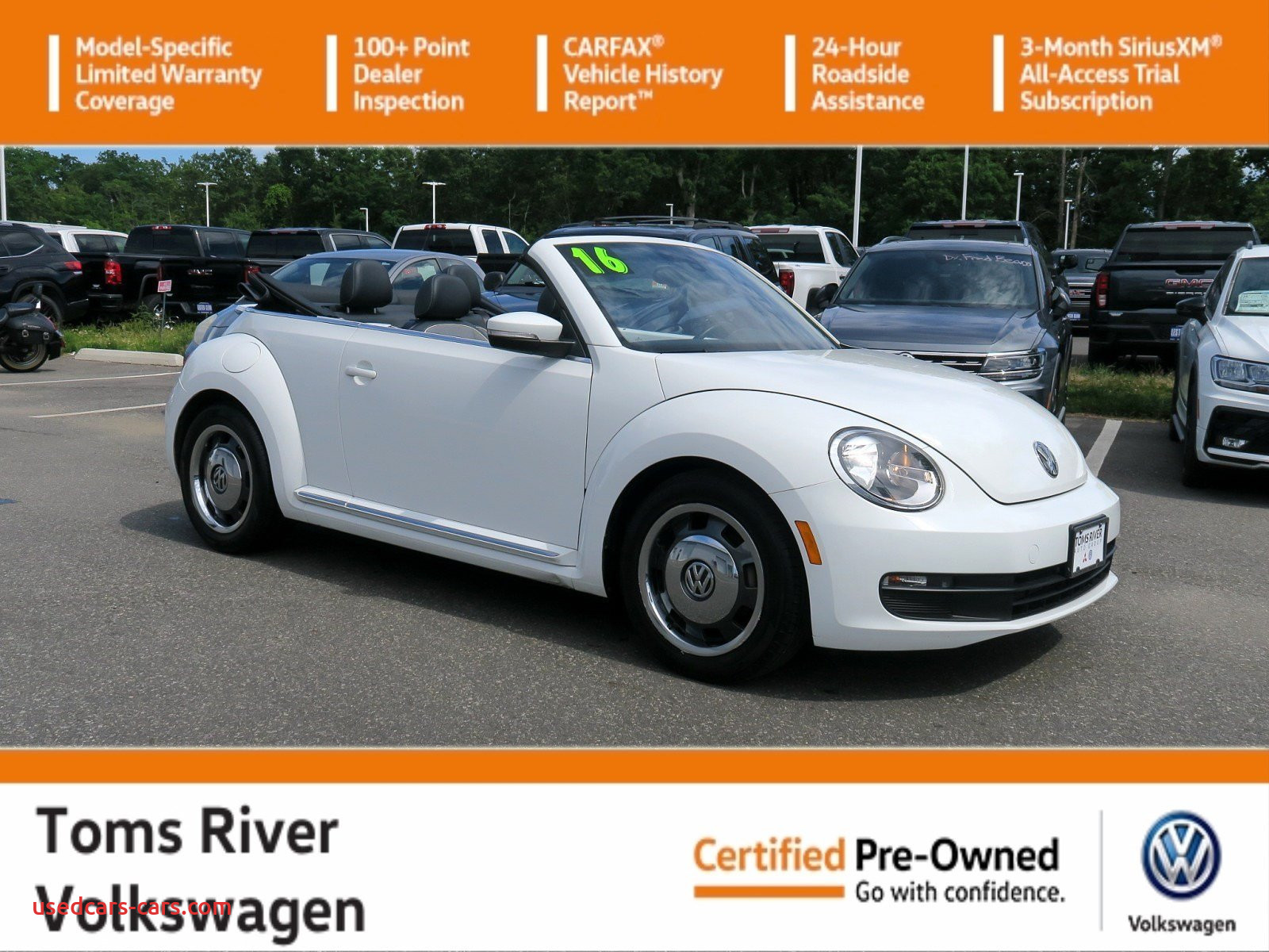 Volkswagen Beetle Accessories Fresh Certified Pre Owned 2016 Volkswagen Beetle Convertible 1 8t Denim Fwd Convertible
