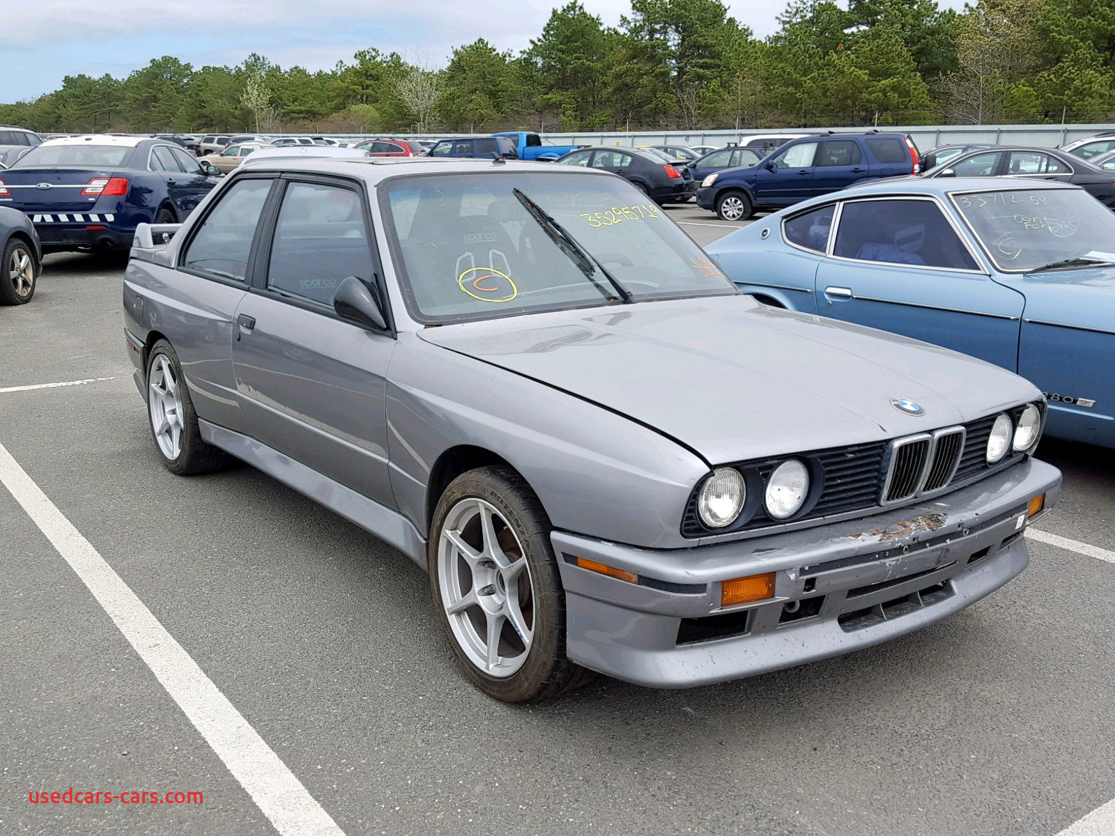 Bmw M3 1988 Awesome Bmw M3 1988 Wbsak0309j — Auto Auction Spot