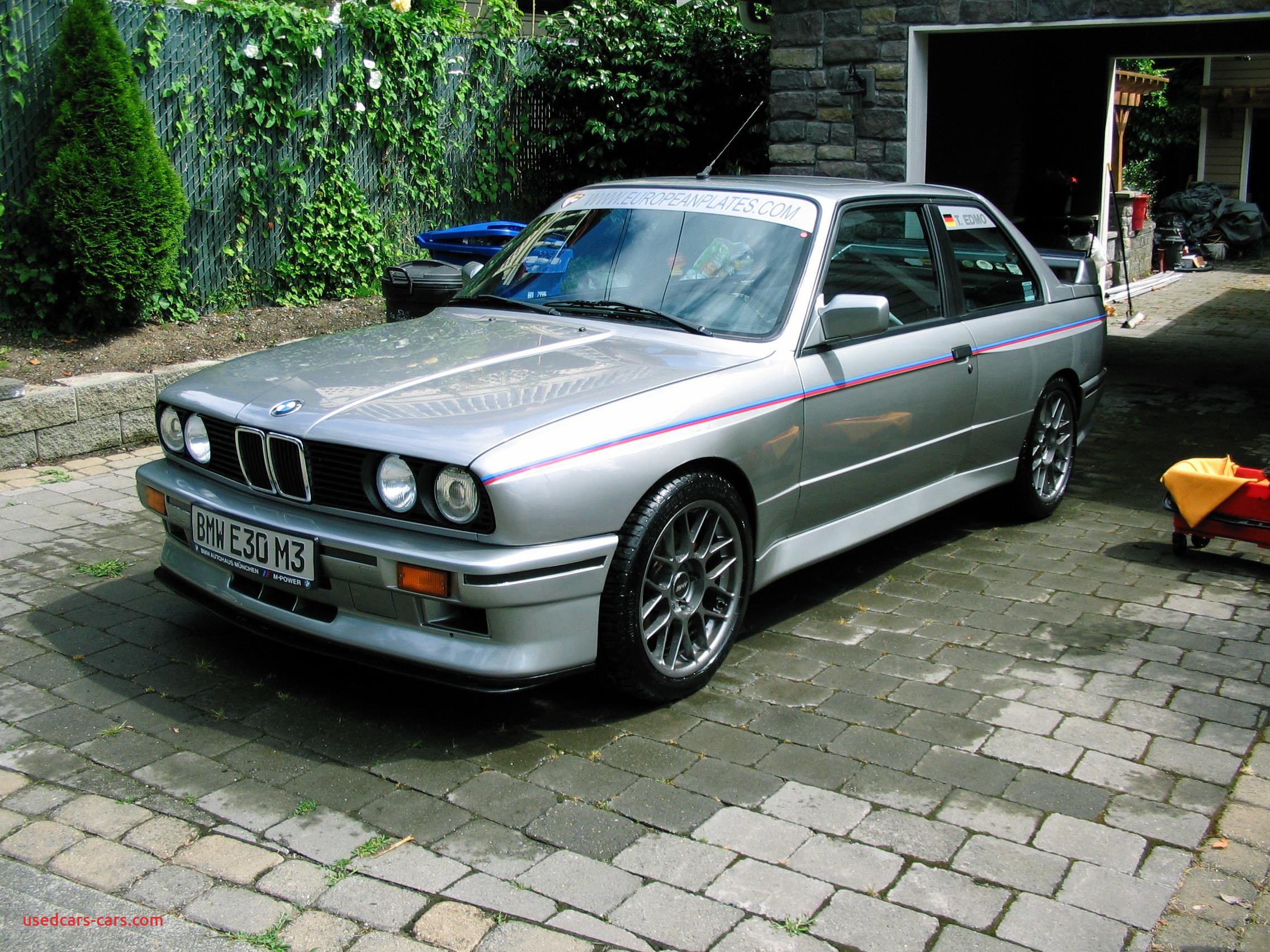Bmw M3 1988 Beautiful 1988 Bmw M3 Silver Tricolor – German Cars for Sale Blog