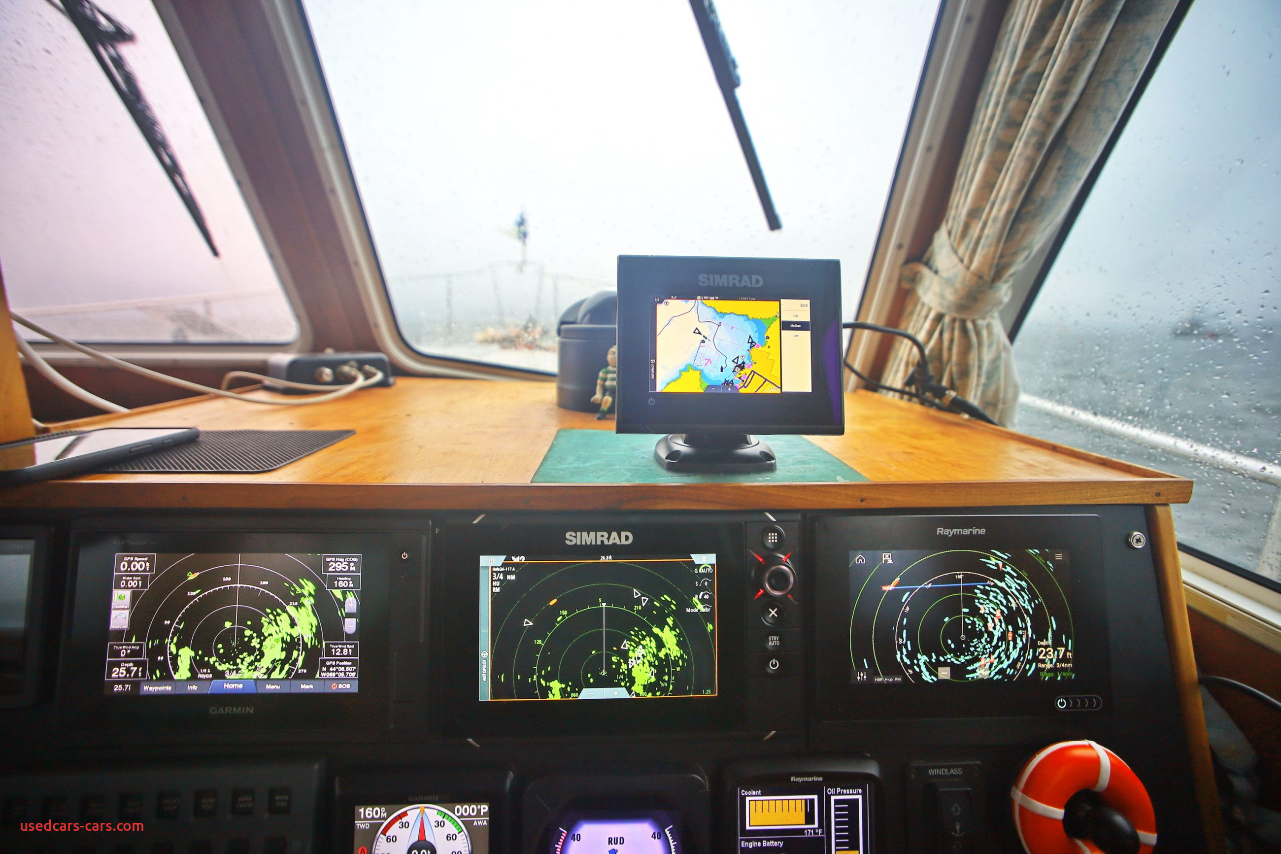 Fantom Works Inspirational Furuno Nxt & Garmin Fantom Doppler Marine Radar is Here