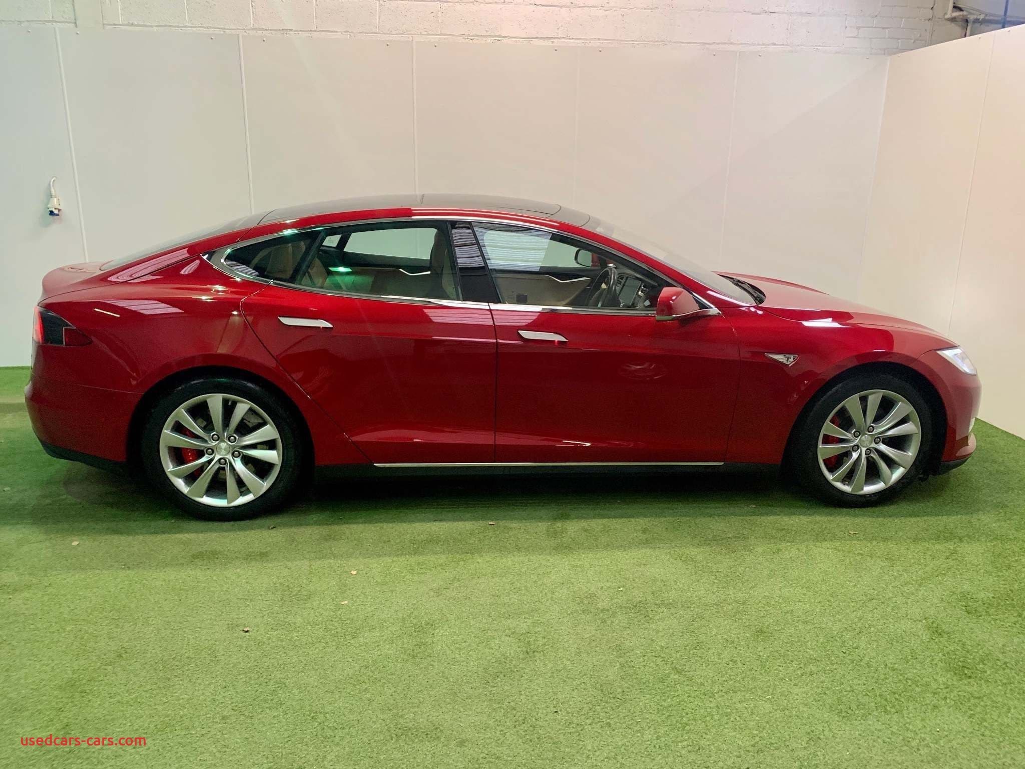 1 Gauss to Tesla Awesome Red Tesla Model S E P90d Saloon 5dr Electric Cvt 4x4 Nav