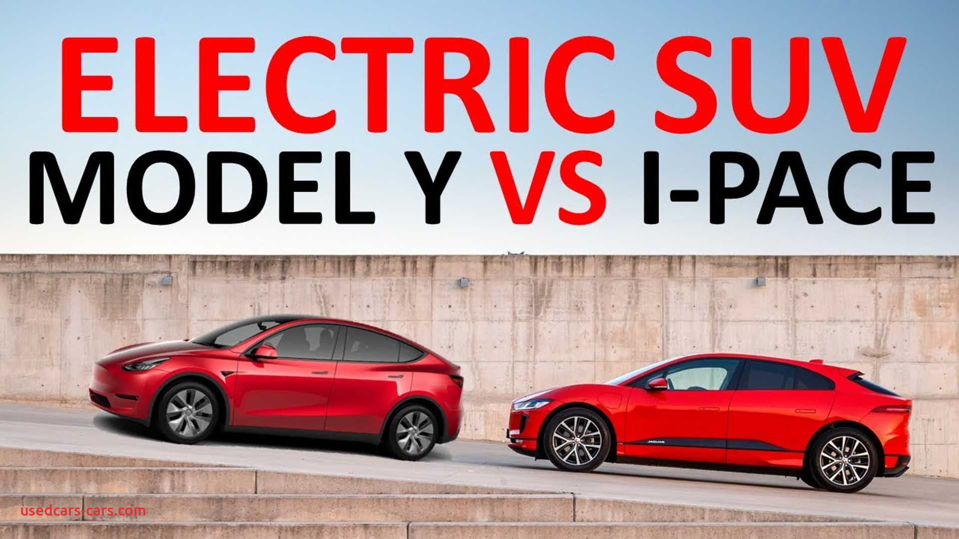 tesla model y vs jaguar i pace