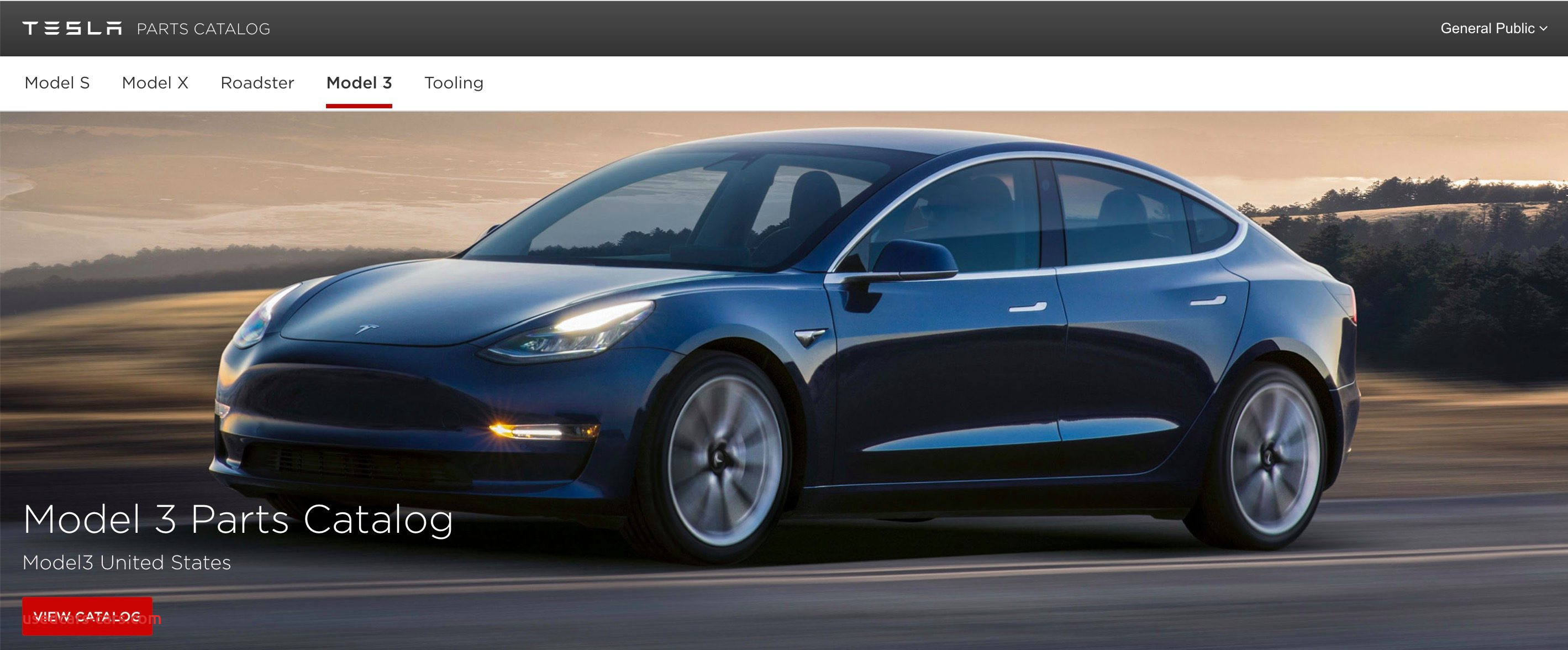 Tesla Cars Near Me New Tesla Releases Parts Catalog for ...