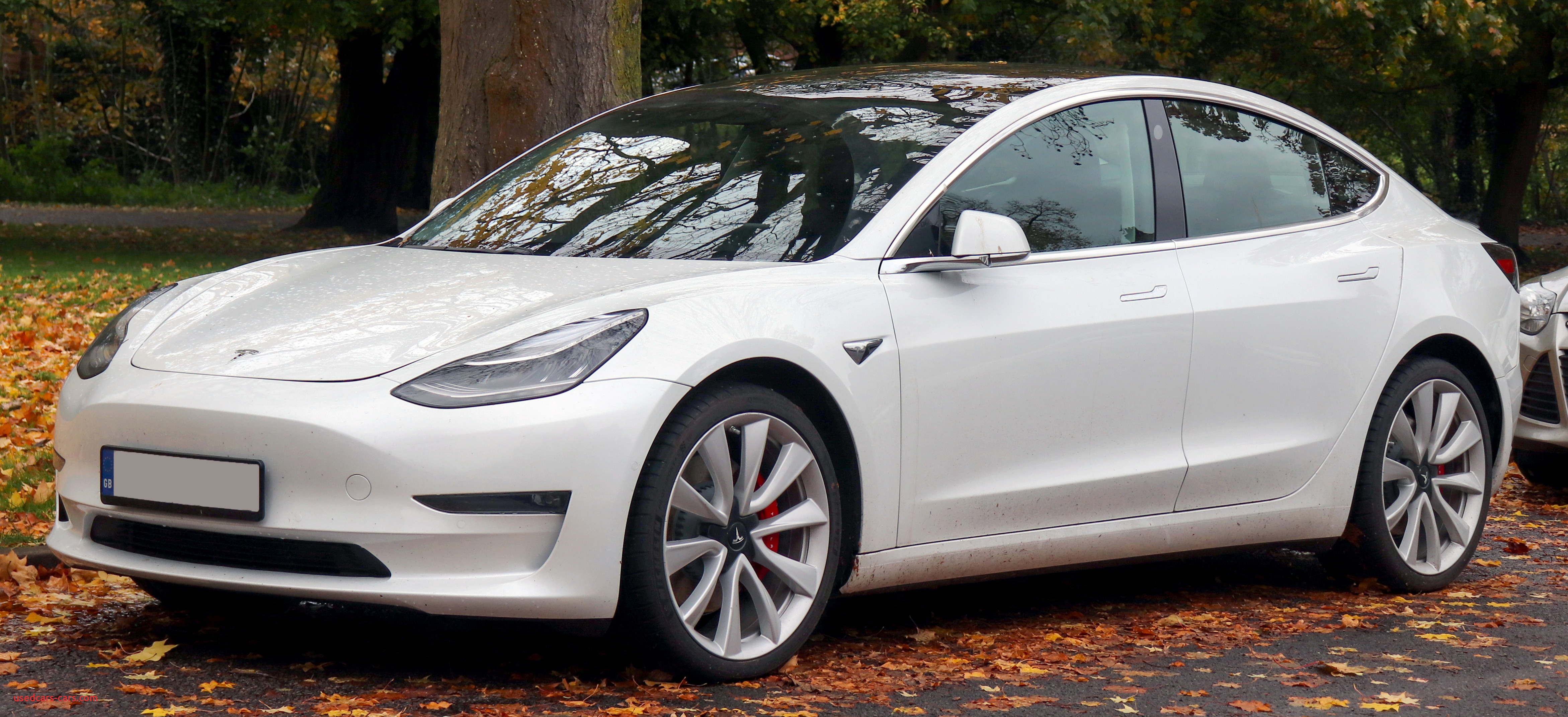2019 Tesla Model 3 Performance AWD Front
