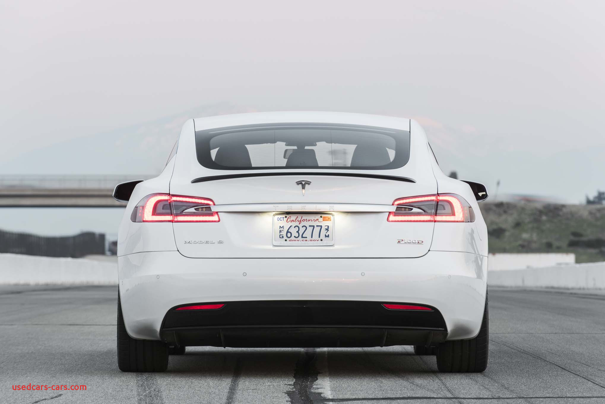 2017 Tesla Model S P100D rear end