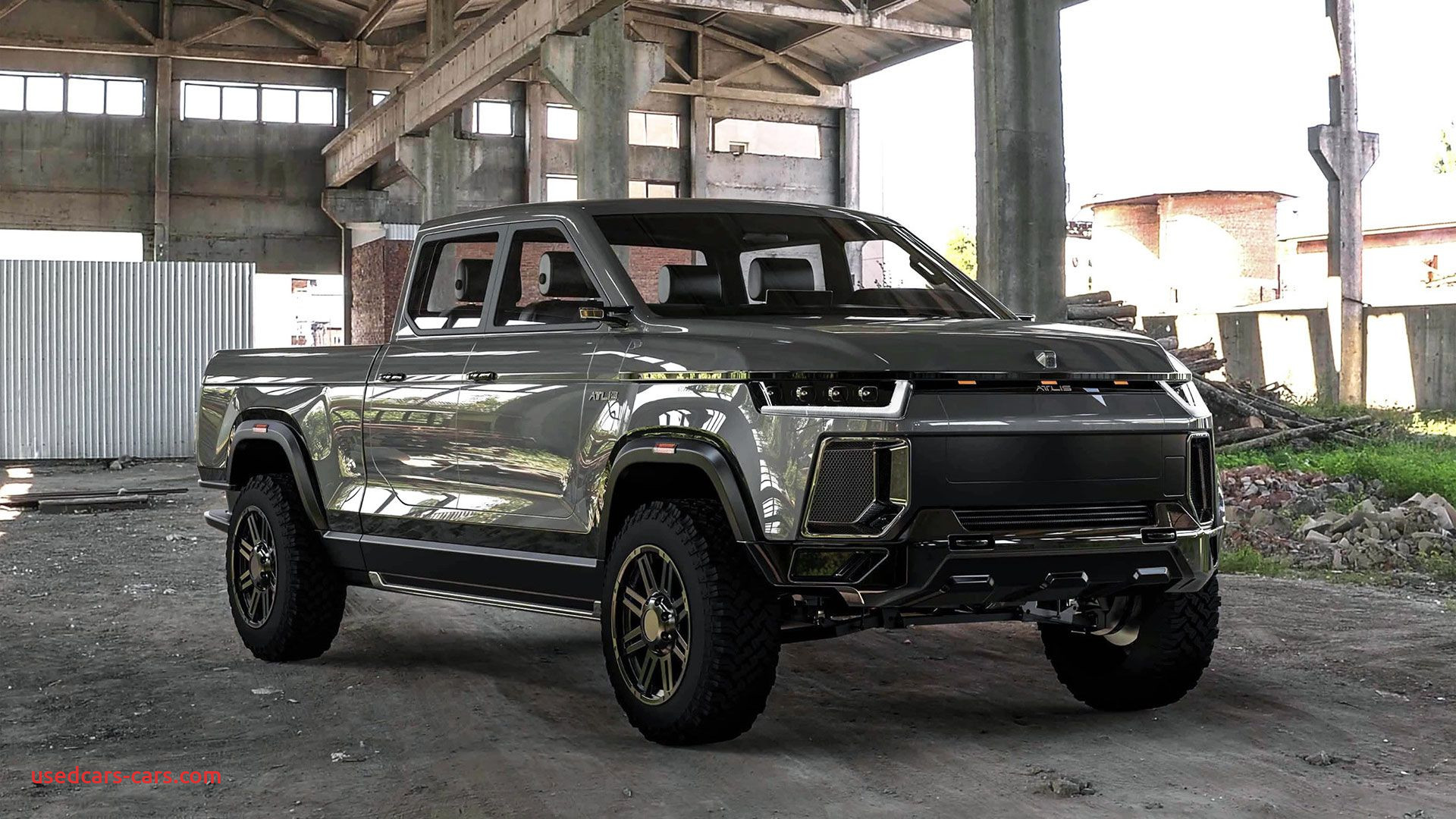 Tesla Pickup Truck Release Unique Rivian R1t is A Real Electric Pickup Truck but atlis Xt is