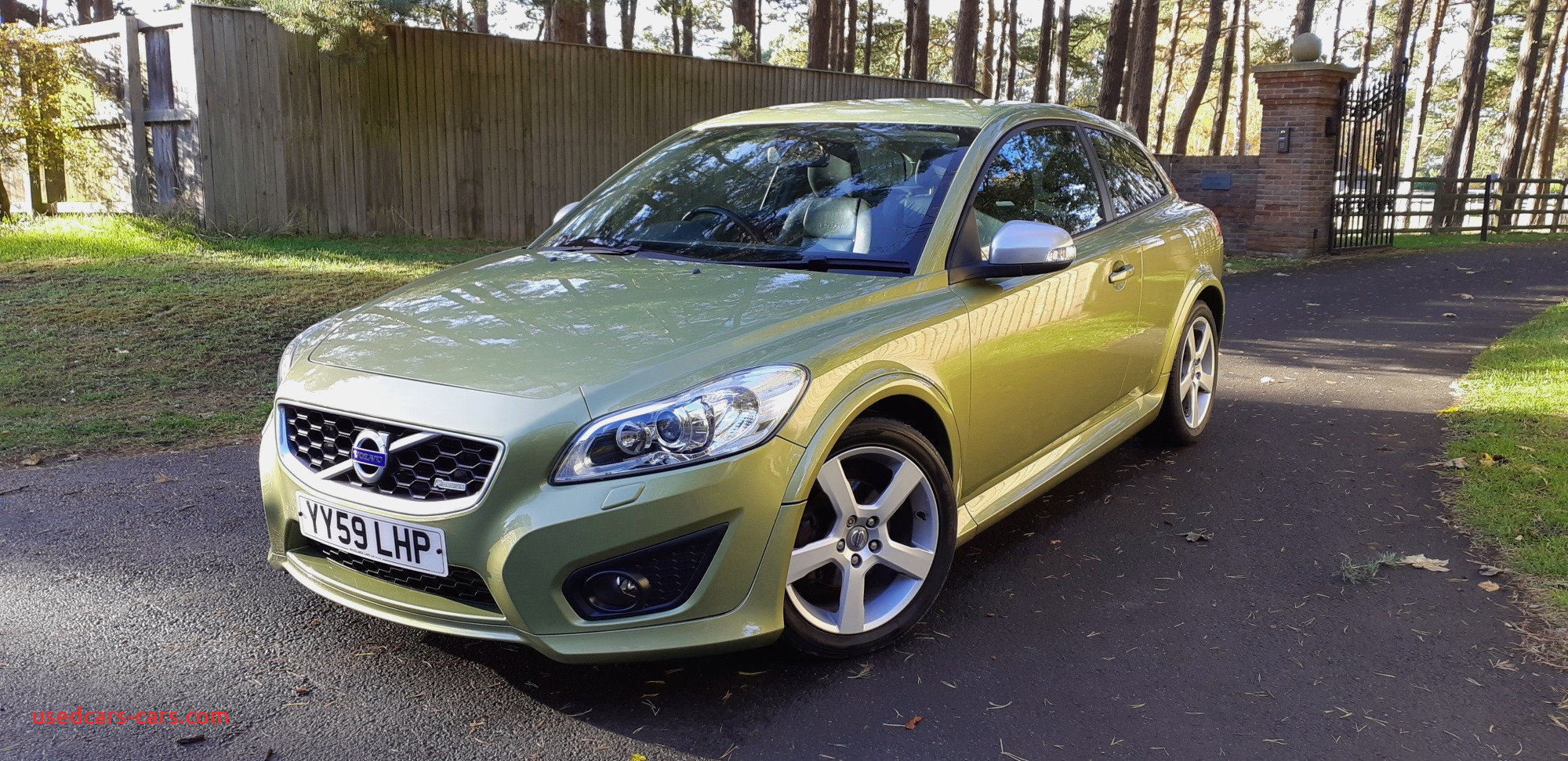 Used Cars for Sale Grimsby Fresh Volvo C30 2 0d R Design In Lime Grass Green for Sale by