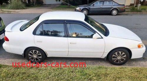 Used Cars for Sale $10000 by Owner Lovely toyota Corolla Le 01 White Under $3000 In Reston Va