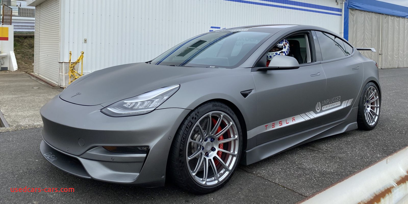 Used Tesla Model 3 Unique Tesla Model 3 with Mods Achieves Petitive Lap with