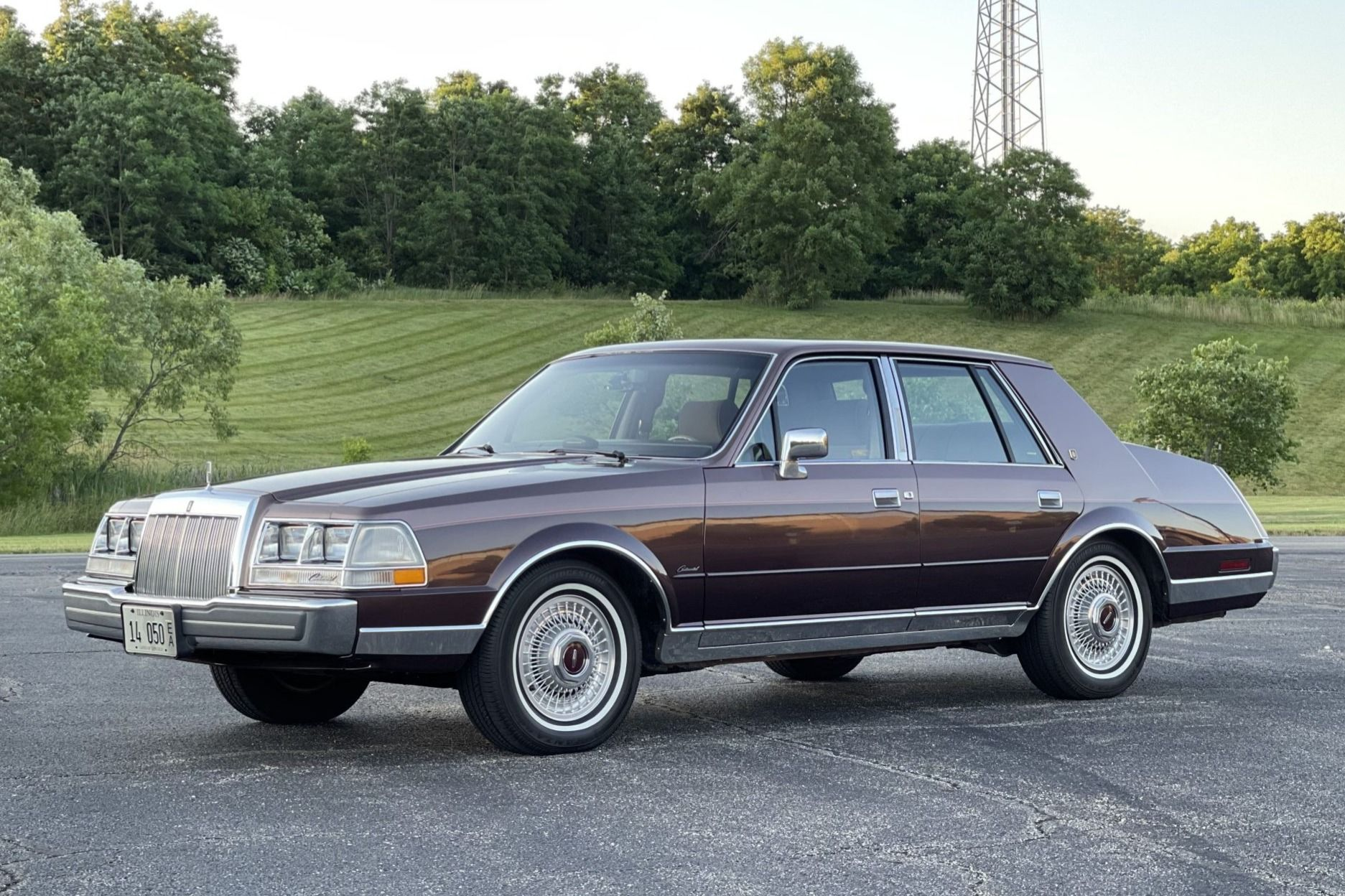 No Reserve 34k Mile 1987 Lincoln Continental Givenchy