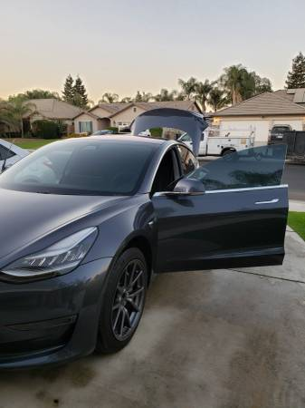 2018 tesla model 3 with full self driving