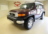 1 Owner Cars for Sale Near Me Lovely 2007 toyota Fj Cruiser 1 Owner Super Clean Low Miles Rare Manual