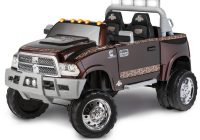 12 Volt Ride On toys Elegant Kid Trax Mossy Oak Ram 3500 Dually 12v Battery Powered Ride On