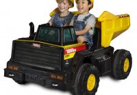 12 Volt Ride On toys Luxury Ride On toy Truck 12 Volt Battery Powered 1 2 Capacity Riding Kids