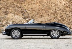 Beautiful 1956 Black Porsche 356 Speedster Gtr