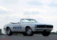 1967 Chevrolet Camaro Rs New Chevrolet Camaro Rs Ss Convertible Indy 500 Pace Car 1967